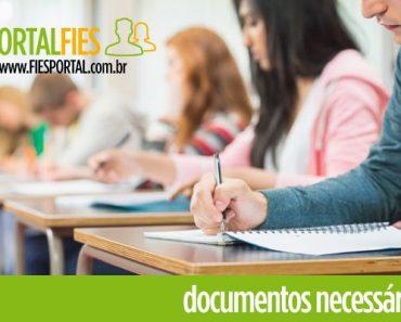 Documentos Necessários Fies 2018