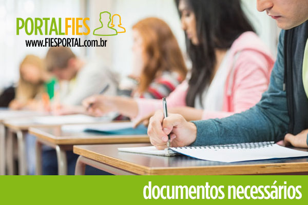 Documentos Necessários para o FIES 2018