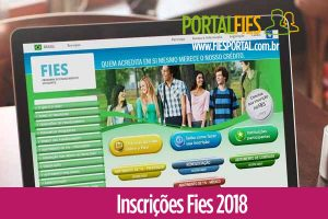 Inscrições Fies 2018