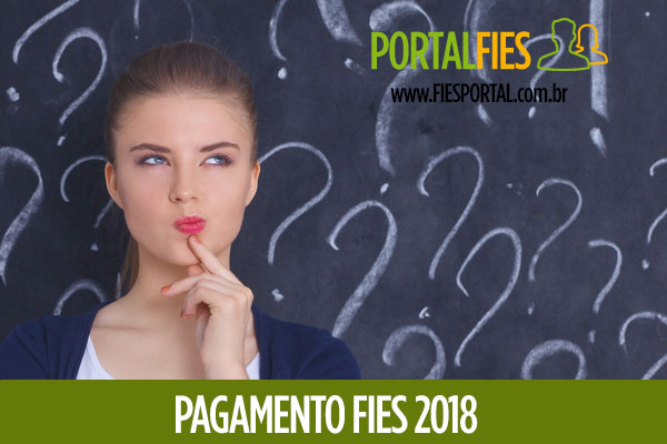 Pagamento FIES 2018