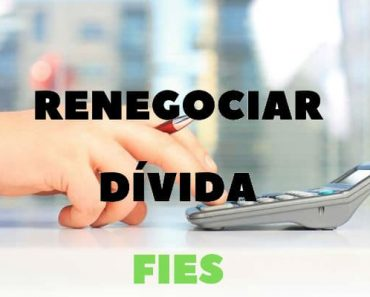 renegociar divida fies